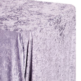 "Velvet 90""x132"" Rectangular Tablecloth - Wisteria"