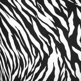 "Zebra Spandex Cocktail Table Cover 30"" Round - Black & White"