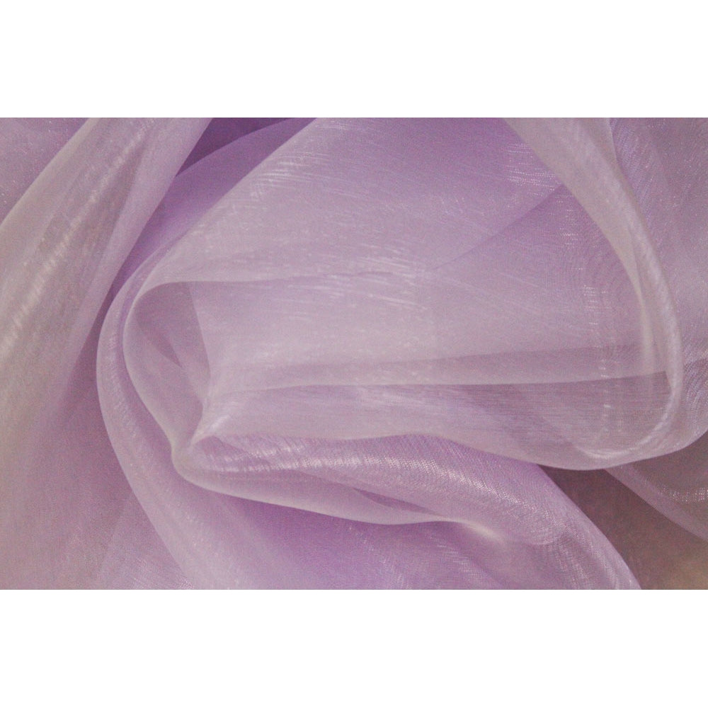 40 yds Organza Fabric Roll - Lavender