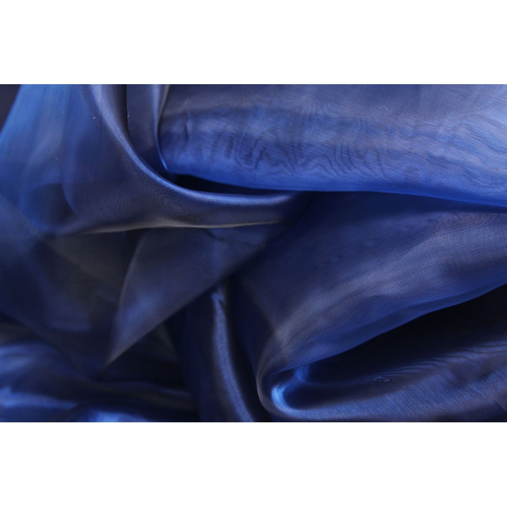 40 yds Organza Fabric Roll - Navy Blue