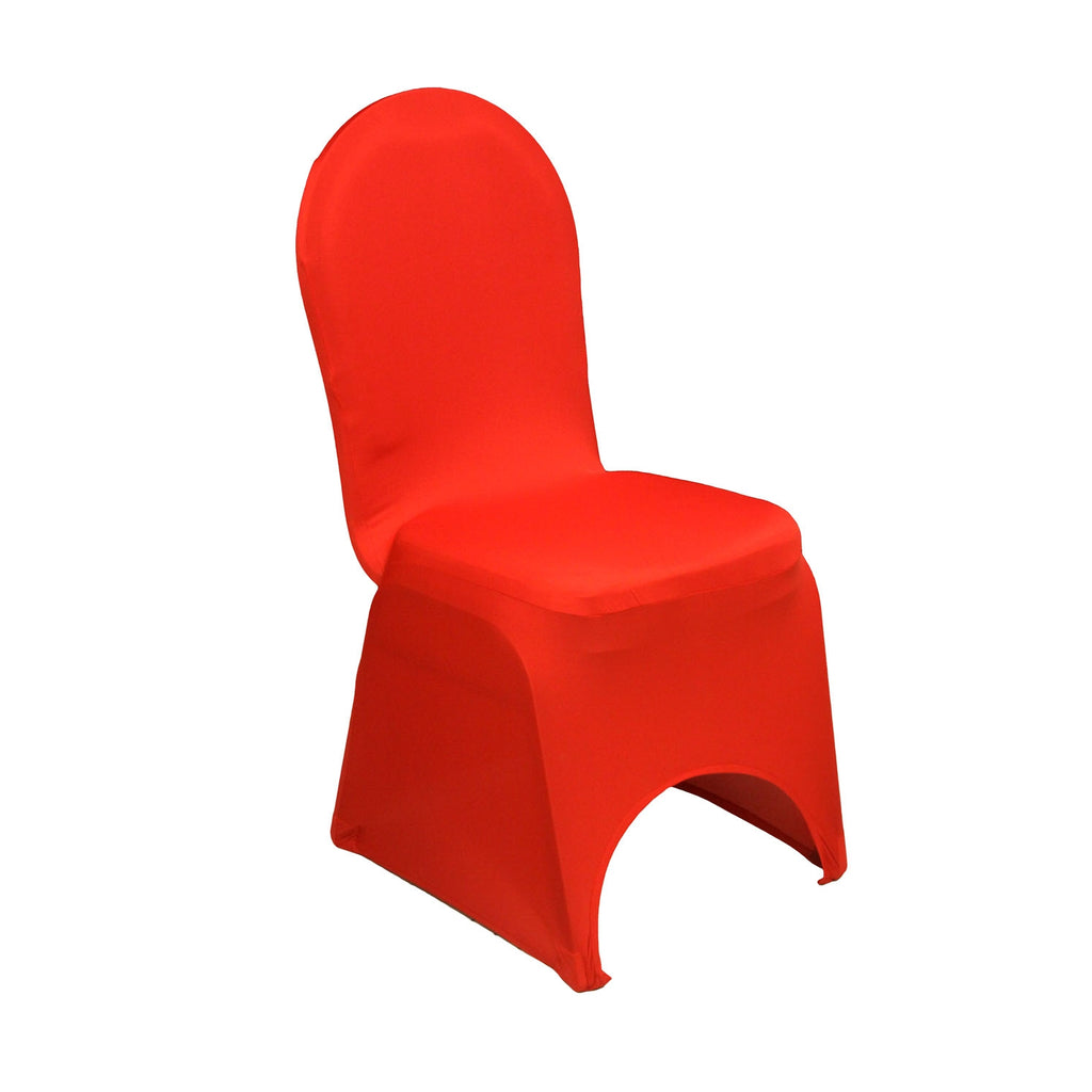Fantastic Spandex Banquet Chair Cover Red Gmtry Best Dining Table And Chair Ideas Images Gmtryco