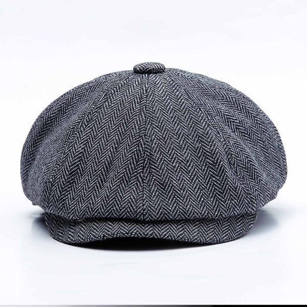 SHELBY Newsboy Cap - Statement Outfit
