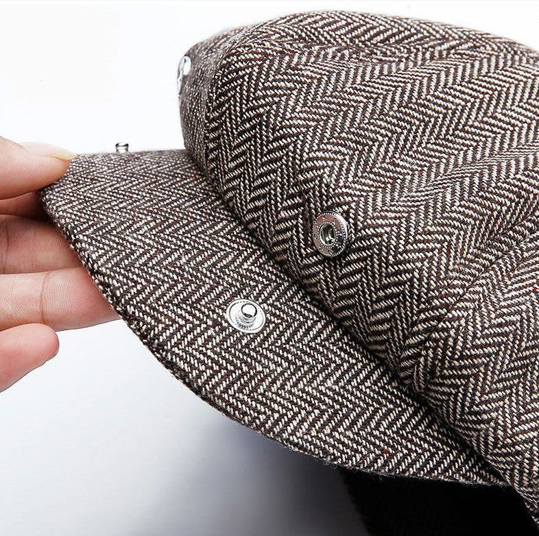 The Newsboy Hat - Peaky Blinders Style