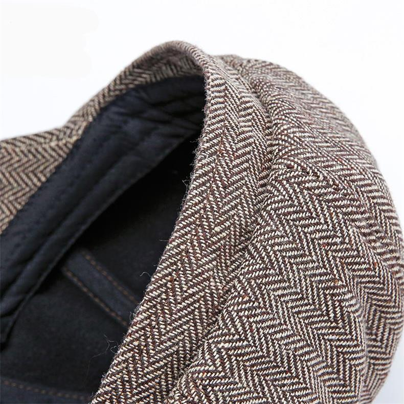 Newsboy Hat - Peaky Blinders Style - Statement Outfit