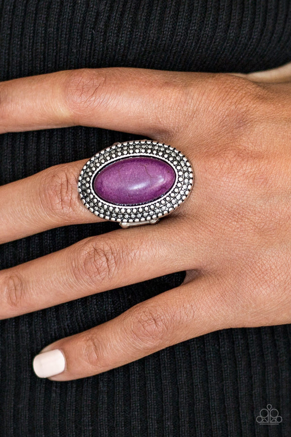 Country Girl Chic - Purple Paparazzi Ring - Carolina Bling Boss