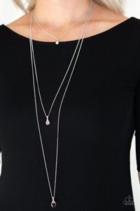 Crystal Chic - Purple Paparazzi Necklace