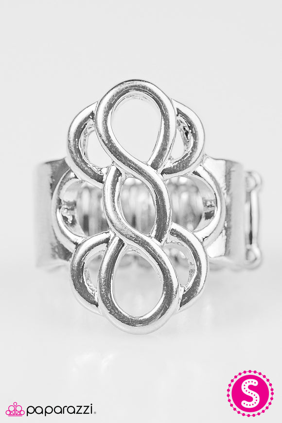 Breathe It All In - Silver Paparazzi Ring - Carolina Bling Boss