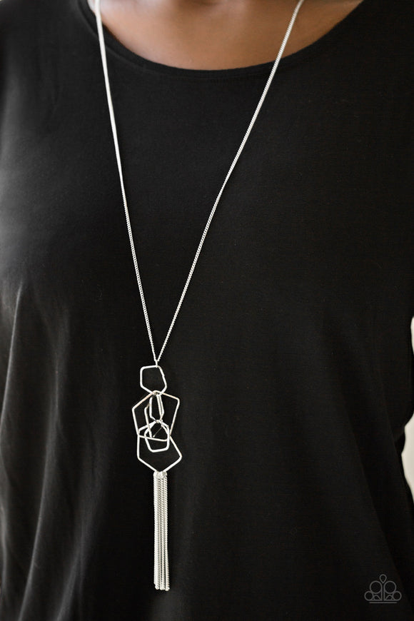 The Penthouse - Silver Paparazzi Necklace