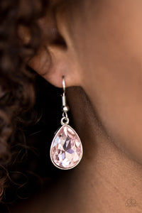 Play The FAME - Pink Paparazzi Earrings - Carolina Bling Boss