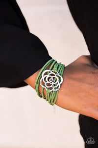 Va Va BLOOM! - Green Bracelet - Carolina Bling Boss