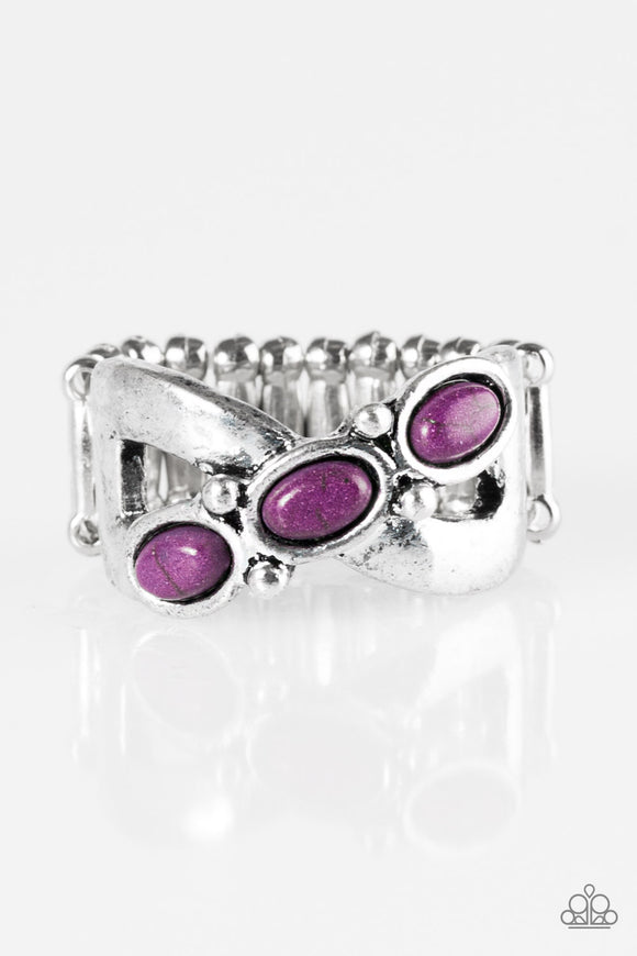 Endless Deserts - Purple Paparazzi Ring - Carolina Bling Boss