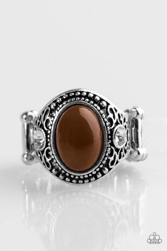 Beautifully Bali - Brown Paparazzi Ring - Carolina Bling Boss