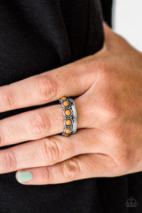 Country Couture - Brown Paparazzi Ring - Carolina Bling Boss