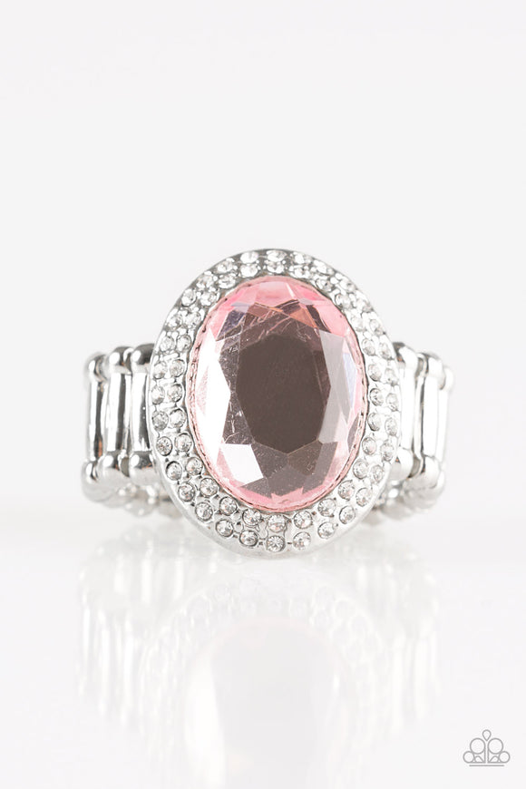 A Fair CACHE - Pink Paparazzi Ring - Carolina Bling Boss