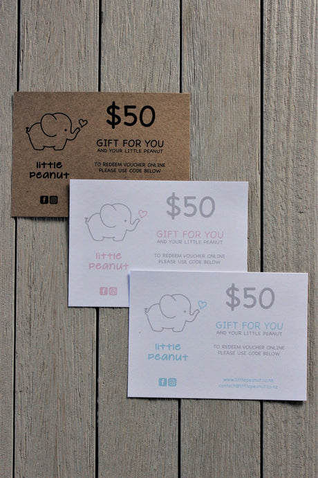 LITTLE PEANUT GIFT VOUCHER FIFTY