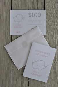 LITTLE PEANUT GIFT VOUCHER ONE HUNDRED