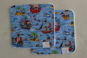 PIRATE WASH CLOTHS