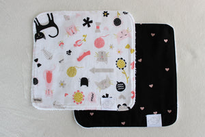 MEOW & ADORE WASH CLOTHS