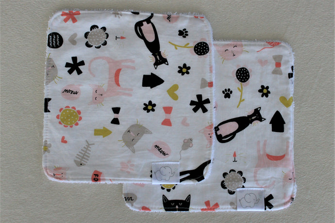 MEOW WASH CLOTHS