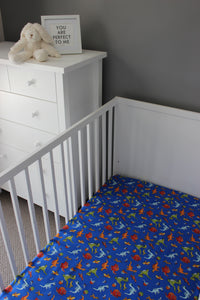 FOSSIL COT FITTED SHEET / COTTON
