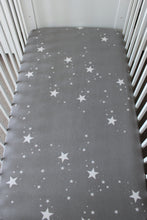 Load image into Gallery viewer, STAR COT FITTED SHEET / FLANNELETTE