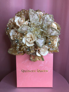 Gold Crystals Bouquet