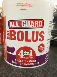 All Guard 4in1 Ewe Bolus 250