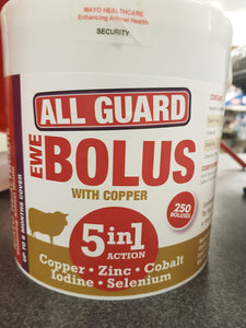All Guard 5in1 Ewe Bolus 250