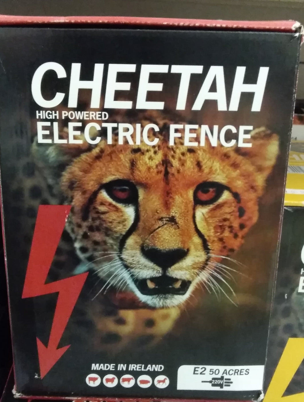 Cheetah High Powered Electric Fence - E2 50 Acres
