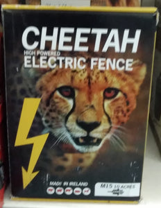 Cheetah High Powered Electric Fence - M15 10 Acres