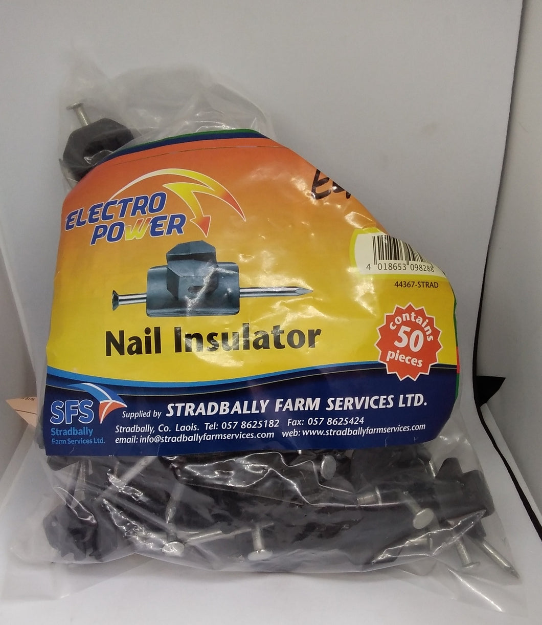 Electro Power Nail Insulator - 50 Pack