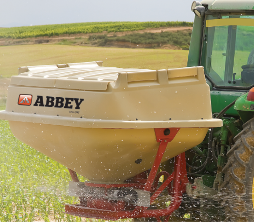 Abbey Twin Disc Fertiliser Applicator - POA