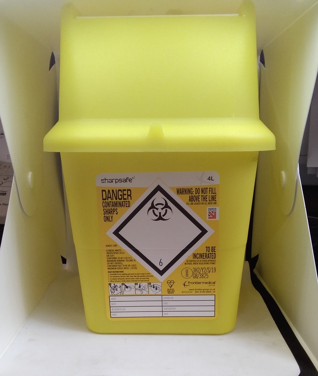 Sharpsafe Hazardous Box