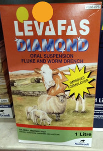 Levafas Diamond Fluke & Worm Drench - 1L