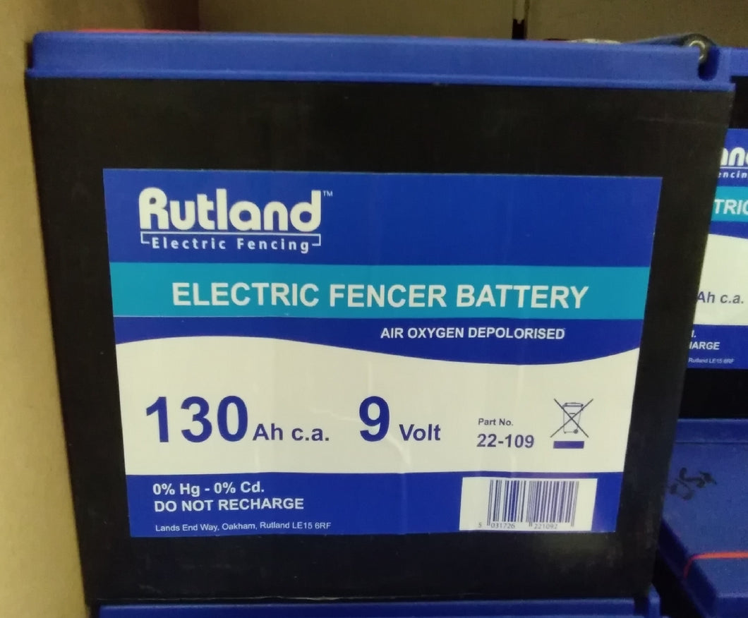 Electric Fencer Battery 9v
