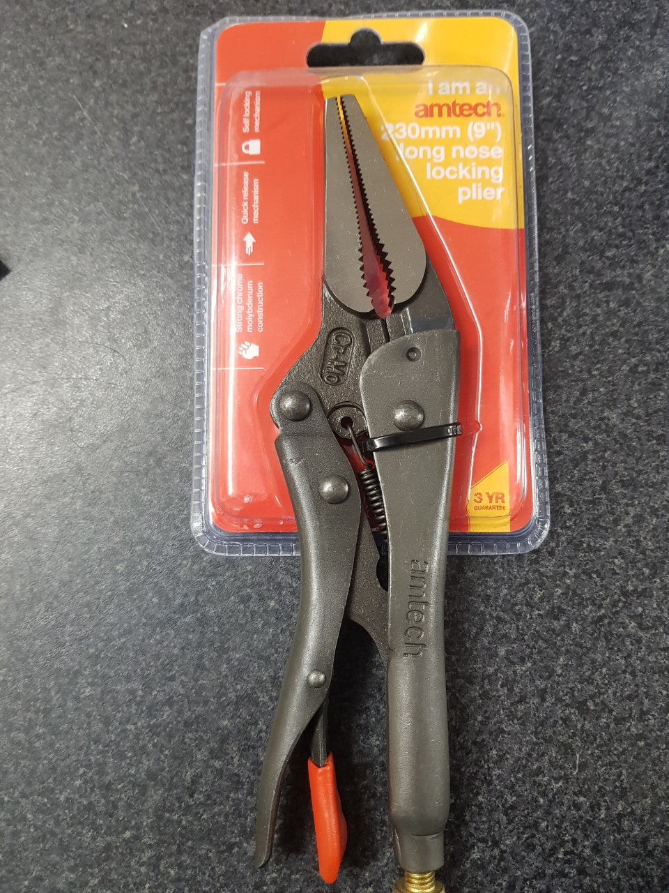 Long Nose Locking Plier