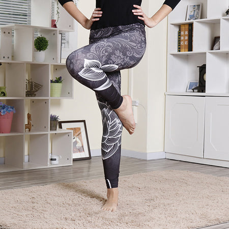 Faenza Breathable Yoga Leggings - Available in XL