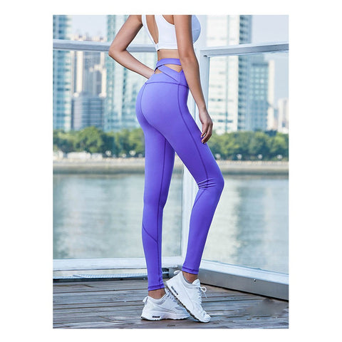 Strappy Wide Waisted Prestige Yoga/ Exercise Pants