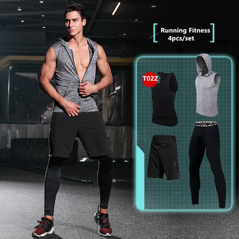 New Compression Men's Sport Suits