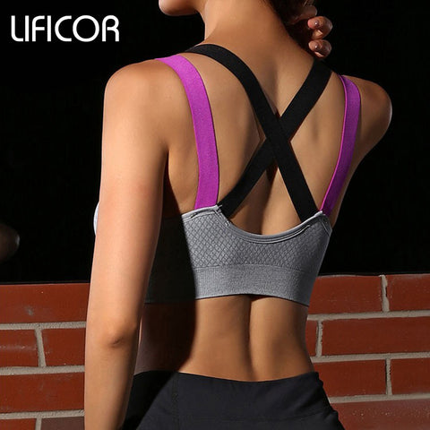 High Performance Strappy Padded Support Top