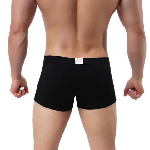 Sexy Mens Breathable Boxers
