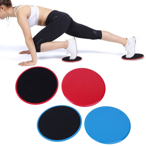 2Pcs/Set Gliding Sliding Discs Body Workout