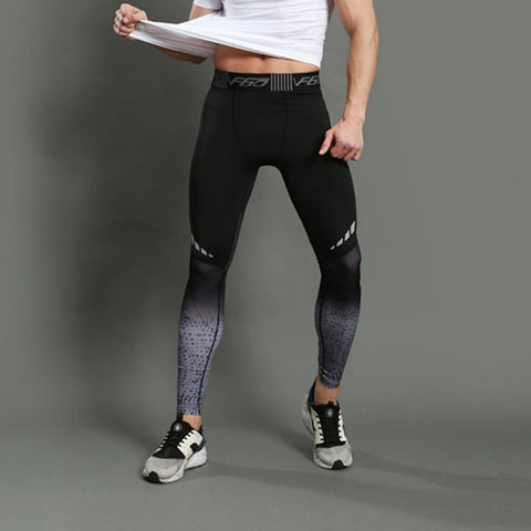 Mens Compression Pro Running Tights- Available in XXL