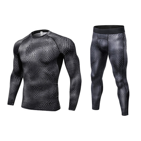 Shirt +Pant Men's Compression Set