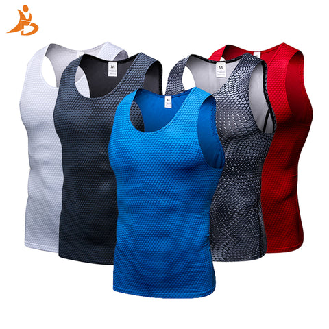 New Compression Tight Gym Sleeveless Tank Top- Available in XXL