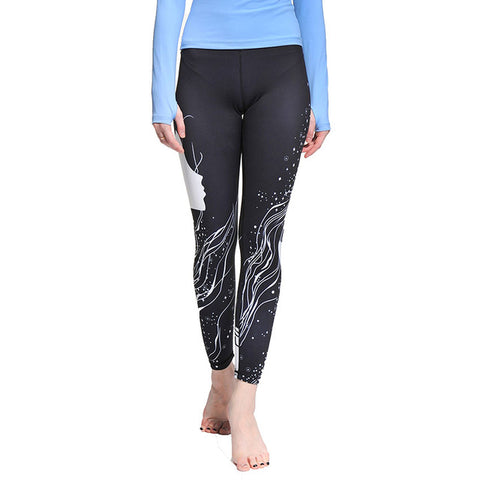 Cool Stylish Print Leggings - Yoga Pants