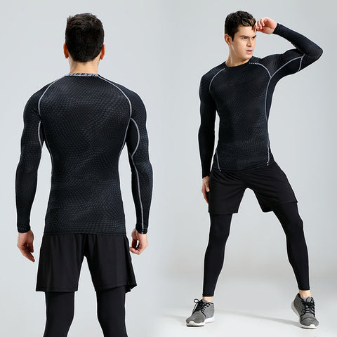 New 3 Pcs Solid Quick Dry Suit