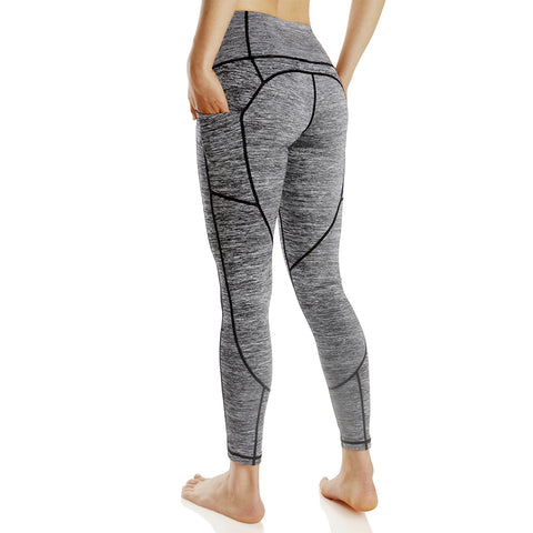 Highly Elastic Breathable Patchwork Fitness Leggings