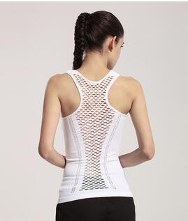 2018 Sexy Hollow Mesh Fitness/Yoga Top