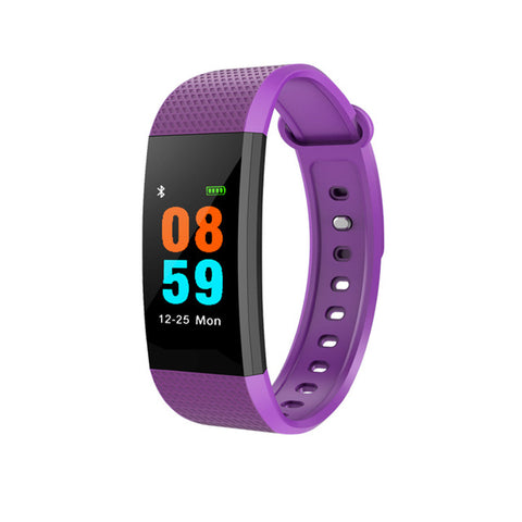 LEMFO Color Touch Screen Heart Rate Monitor Smart Watch Bracelet